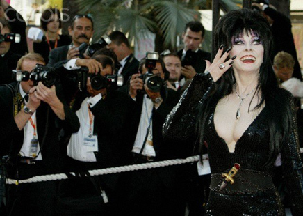 26d9e0fb5 (September 28 2018) Elvira, the Mistress of the Night, made herself  available to local radio over the years – especially on KROQ – during  Halloween.